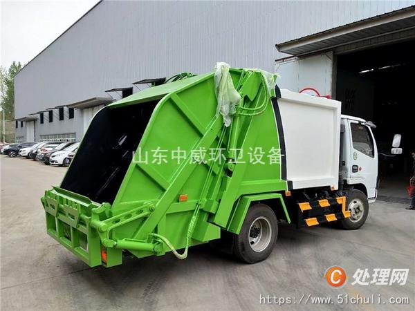 二手压缩式垃圾车