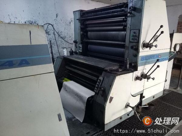 二手双色胶印机