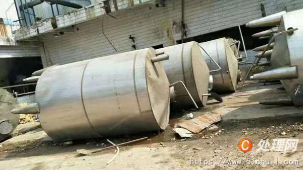 二手不锈钢储罐
