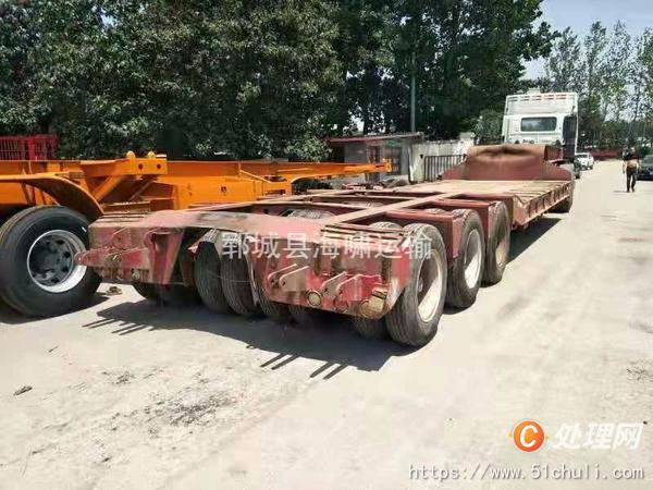 二手挖掘机运输车