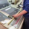 出售2006年三菱102-4尺寸对开四色印刷机使用中